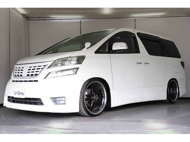 トヨタ 2.4Zプラチナムセレクション社外20インチアルミホイール