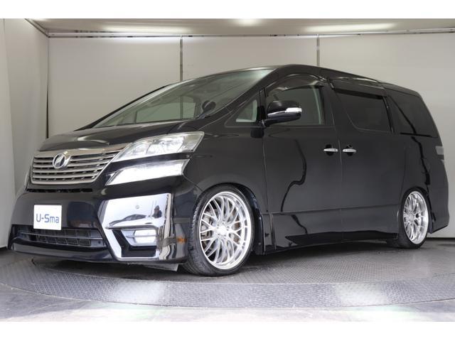 トヨタ 2.4Zプラチナムセレクションナビ地デジTV後席モニター