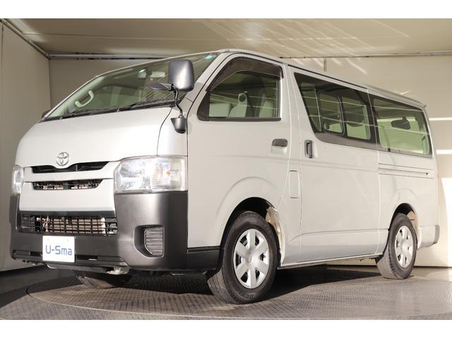 トヨタ ロングDX 6人乗 純正SDナビ ワンセグ ETC キーレス