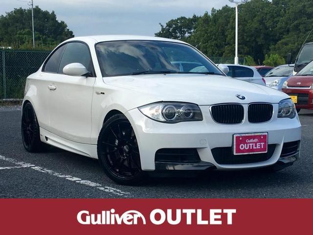 BMW 135i 純正HDDナビ 黒レザーシート パワーシート