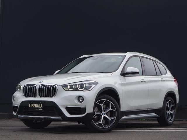BMW X1 xDrive 20i xライン アドバンスドアクティブセーフティPKG コンフォートPKG アダプティブクルーズコントロール タッチパネルiDriveナビ バックカメラ ヘッドアップディスプレイ ハーフ革シート