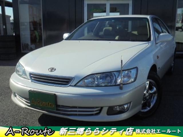 トヨタ 2.5G コーチエディション 本革PWシート 純正DVDナビ