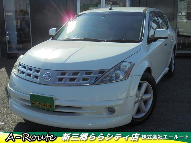 日産 350XV 本革パワーシート 純正フルエアロ HKS製車高調