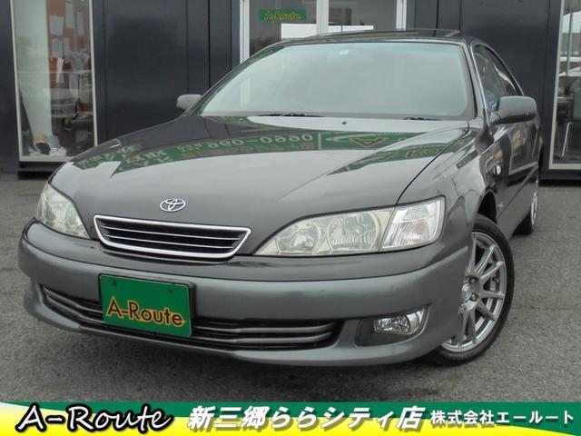 トヨタ 3.0G クルージングED サンルーフ 本革 純正DVDナビ