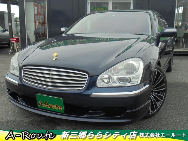 日産 300G 後期型 ターボ 黒本革シート 純正マルチDVDナビ