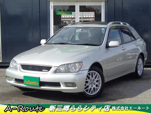 トヨタ AS200 Zエディション 4WD SR 純正DVDナビ