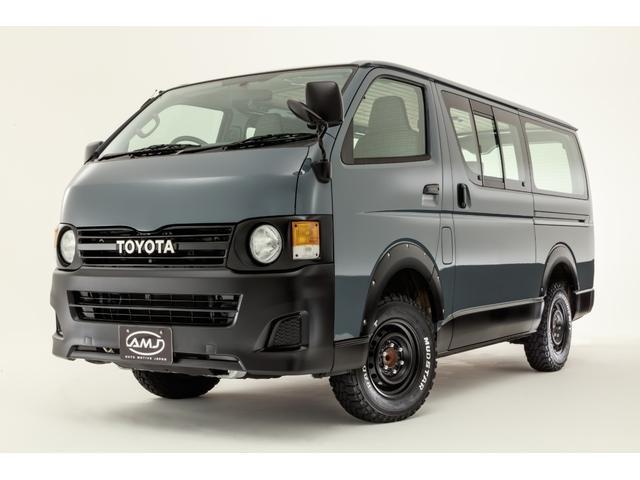 トヨタ ロングDX AMJ80s オリジナル丸目換装 オリジナル格子柄シートカバー ネオクラシックスタイル
