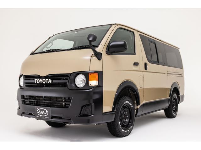 トヨタ レジアスエースバン ロングDX GLパッケージ AMJ80s オリジナル丸目換装スタイル リフトアップ リアクーラーヒーター
