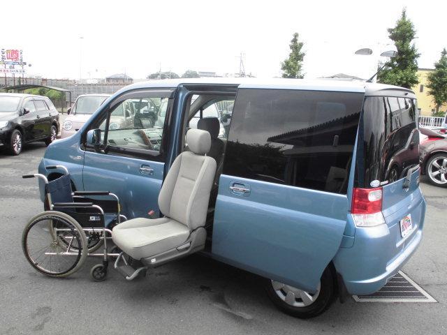 ホンダ X電動サイドリフトアップ車ナビ両側オートスライドドアキーレス
