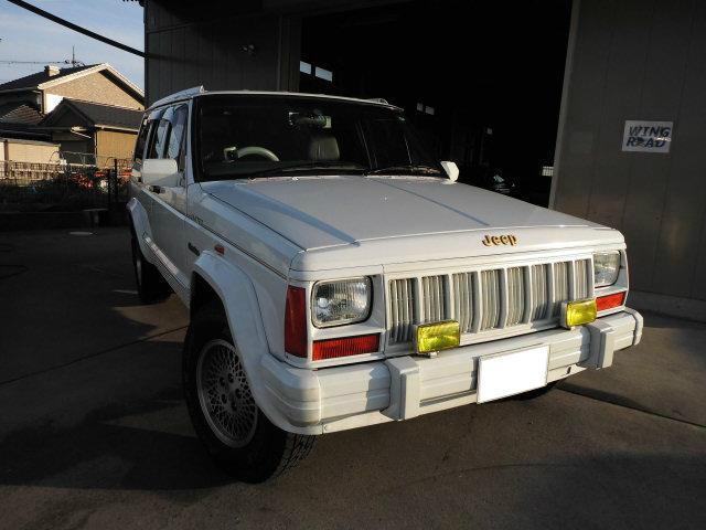 クライスラー・ジープ リミテッド 4Lガソリン4WD HID オートクルーズ