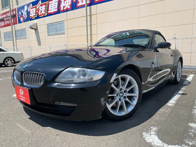 BMW Z4 ロードスター3.0si ロードスター3.0si(2名) ユーザー買取車 純正ナビ 純正17インチアルミ キーレス スペアキー 本革シート