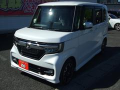 N BOXカスタムG・EXターボ4WD ホンダセンシング パドルシフト