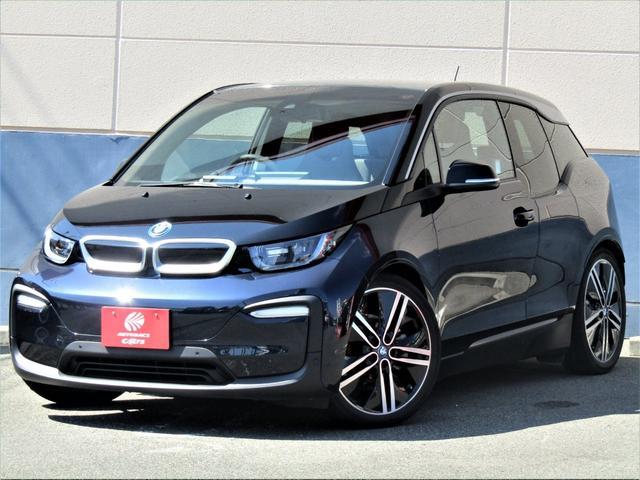 BMW i3 ロッジ レンジ・エクステンダー装備車 純正10.2インチHDDナビ リアビューカメラ ミラー内蔵ETC ドライビングアシストプラス パーキングサポートパッケージ クルコン ハーフレザー シートヒーター フルオートエアコン 充電ケーブル