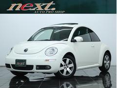 VW ニュービートルLZ 左H 黒革 サンルーフ HDDナビ