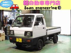 キャリイトラックKC 4WD 5速マニュアル 社外オーディオ