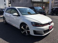 VW ゴルフGTIベースグレード ワンオーナー 禁煙車 メモリナビ フルセグ