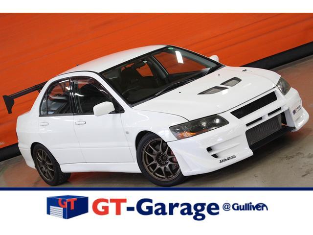 GSRエボリューションVII DAMDバンパー 9MRライト RALLIARTマフラー BLITZ車高調 GTウィング タイベル交換済