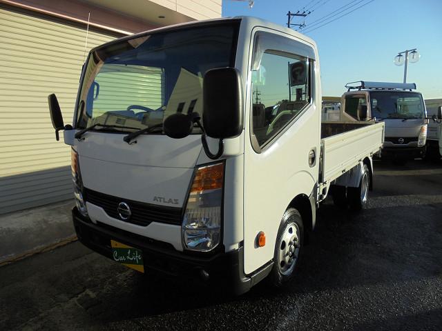 日産 スーパーローDXガソリン車オートマ3方開き積載1.5t
