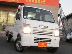 キャリイトラックKC 4WD 5速マニュアル 三方開き 荷台マット 低走行車