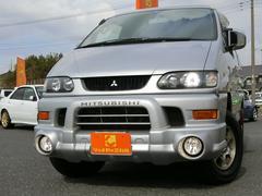 デリカスペースギアシャモニー 4WD 8人乗り HDDナビ