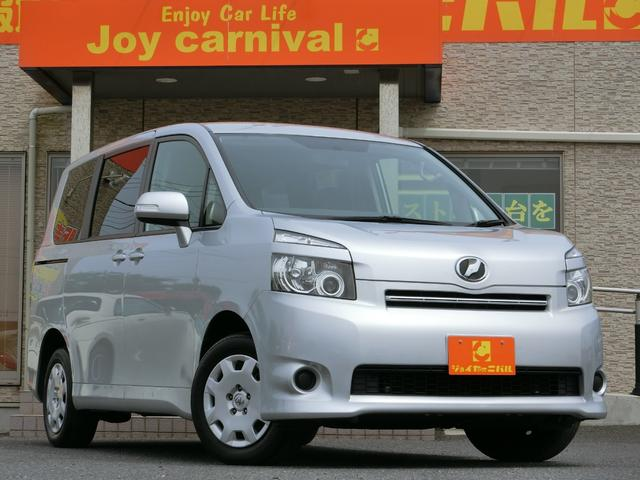 トヨタ ヴォクシー トランス-X HDDナビ DVDビデオ 地デジ Bluetooth サイドカメラ バックカメラ 脱着式テーブルボード フラットラゲッジボード デュアルオートエアコン  ベッド使用可 車中泊可 タイミングチェーン車