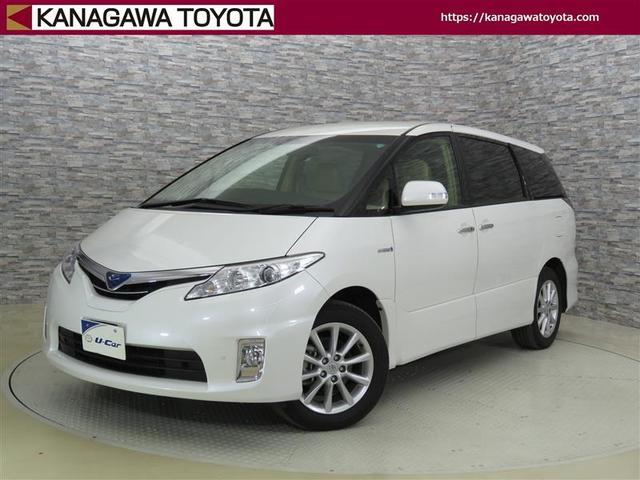 トヨタ G HDDナビ フルセグ 純正アルミ 本革 スマートキ-