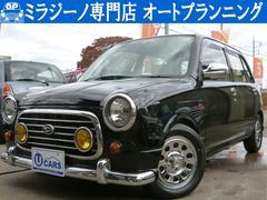 ミラジーノジーノ ブラック全塗装 新品デイトナホイールタイヤセット