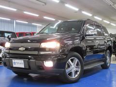 シボレー トレイルブレイザーLTZ 4WD ディーラー車 黒革シート HDDナビ