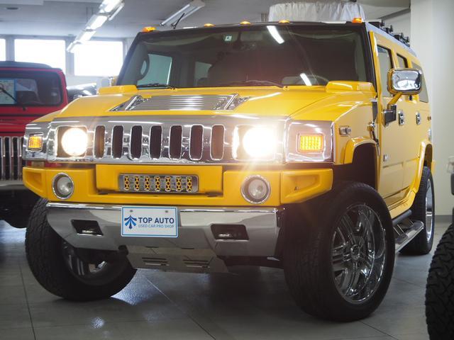 ハマー ラグジュアリーパッケージ 4WD サンルーフ 本革 22AW