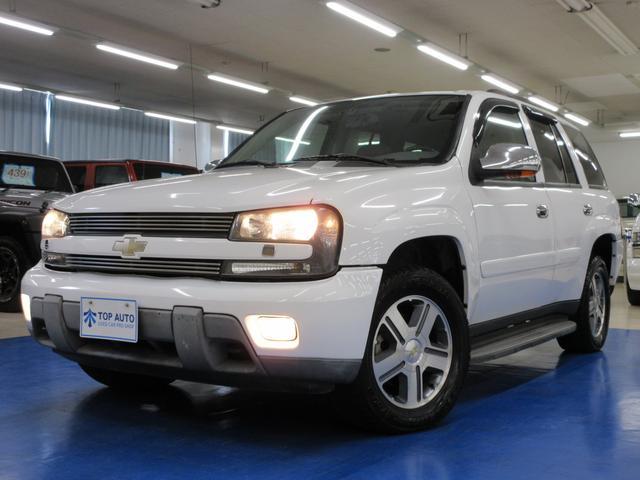 シボレー LTZ 4WD ディーラー車 サンルーフ 本革 HDDナビ