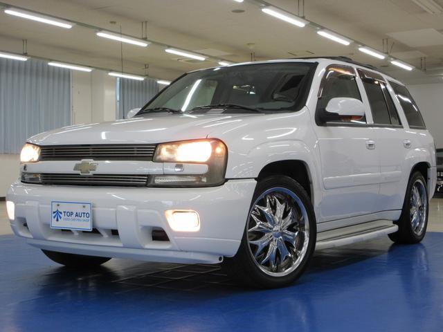 シボレー LTZ 4WD ディーラー車 サンルーフ 本革 社外ナビ