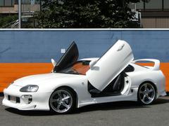 スープラツインタ−ボ BOMEXエアロ TEIN車高調 4連メ−タ−