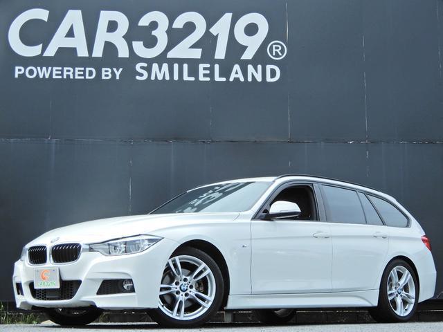 BMW 320dツーリング Mスポーツ ディーゼルターボ 後期 衝突軽減ブレ-キ LDA ACC ミリ波レ-ダ- 純正ナビ Bカメラ フルセグ 純18AW PBD ETC