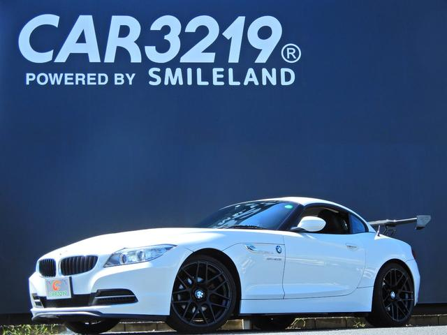 BMW Z4 sDrive20i 後期 タ-ボ 黒革電動シ-ト 19AW GTウイング パドルシフト 電動オープン SuperSprintマフラー スマートキー