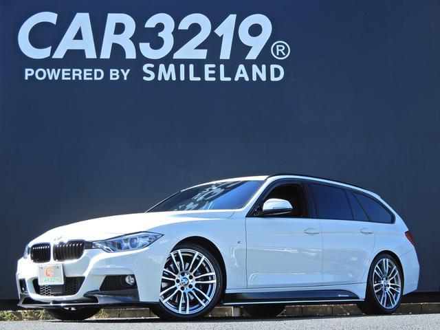 BMW 320dツーリング Mスポーツ Mパフォ-マンスエアロ ディ-ゼルタ-ボ 純正OP19AW Mスポキャリパ- パドルシフト レ-ダ-クルコン 衝突軽減