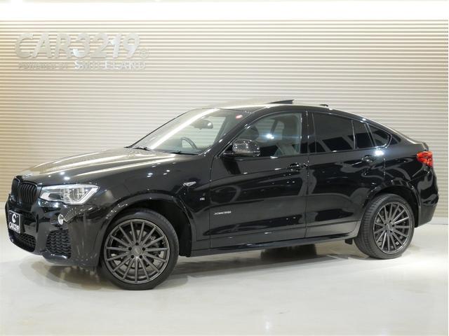 BMW X4 xDrive 35i Mスポーツ タ-ボ 黒本革 サンル-フ VOSSEN20AW 純正ナビ バックカメラ 全方位カメラ アダプティブクルーズコントロール LKD 衝突軽減B LEDヘッドライト ETC
