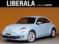 VW ザ・ビートルデザインレザーPKG メモリナビTV 黒革シート クルコン