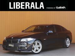 BMW528iMスポーツ 黒革シート OP19AW 純正ナビTV