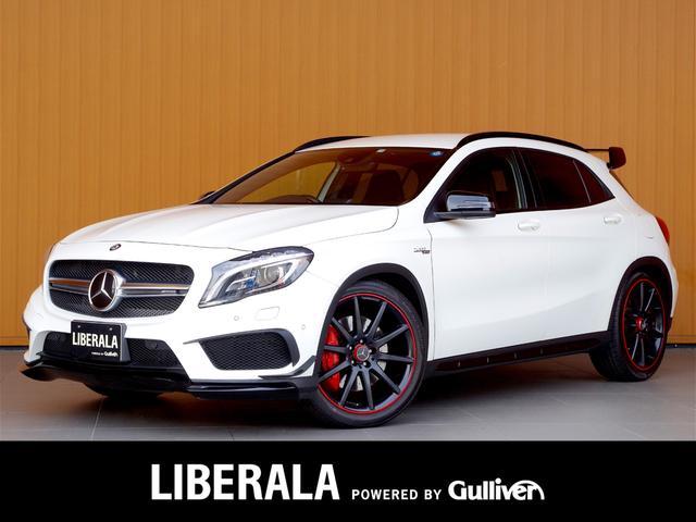 メルセデス・ベンツ GLA45AMG4マチックED1レーダーセーフPKG 黒革