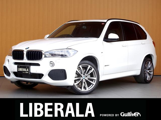 BMW xDrive 35d Mスポーツ 7人乗り セレクト/コンフォートPKG サンルーフ 黒革ベンチレーションシート ACC 純正ナビTV Bカメラ 360度カメラ パワーバックドア ソフトクローズドア OP20AW 4ゾーンエアコン