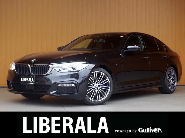 BMW 530i Mスポーツ ヘッドアップディスプレイ ソフトクローズドア 黒革シート ACC 衝突軽減B LDW 純正ナビTV 360度カメラ パワーシート/ヒーター アダプティブLED パーキングアシスト パワートランク