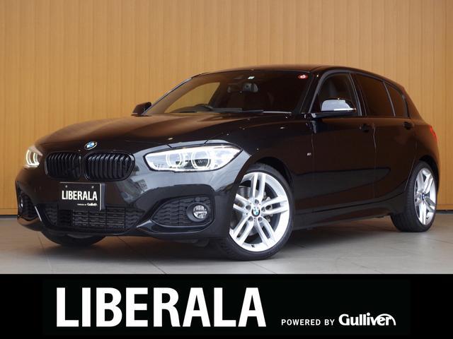 BMW 1シリーズ 118i Mスポーツ ドライビングアシストPKG 衝突軽減B レーンデパーチャーW クルーズコントロール 純正ナビ Bカメラ パークディスタンス 純正OP18incAW LEDライト ドライブセレクト ETC