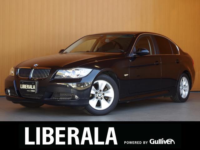BMW 3シリーズ 323i 左ハンドル 社外HDDナビ Bカメラ パワーシート/メモリ キセノンライト 純16incAW プッシュスタート ETC