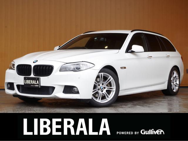 BMW 5シリーズ 523iツーリング Mスポーツパッケージ 純正ナビTV Bカメラ クルーズコントロール バイキセノン 純正18incAW ETCコンフォートアクセス パドルシフト パークディスタンス