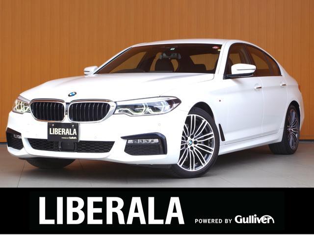 BMW 5シリーズ 530i Mスポーツ 黒革シート ACC 衝突軽減B LDW LCW 純ナビTV 360度カメラ ヘッドアップDパワーシート/メモリ 全席シートヒーター 純19AW Mキャリパー  アダプティブLEDヘッド コンフォートA
