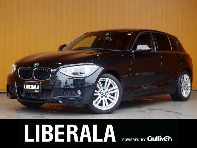 BMW 116i Mスポーツ 純ナビ Bカメラ パークディスタンス 純17AW キセノンライト アイドリングstopプッシュスタート ドライブセレクト フォグランプ リモコンキー