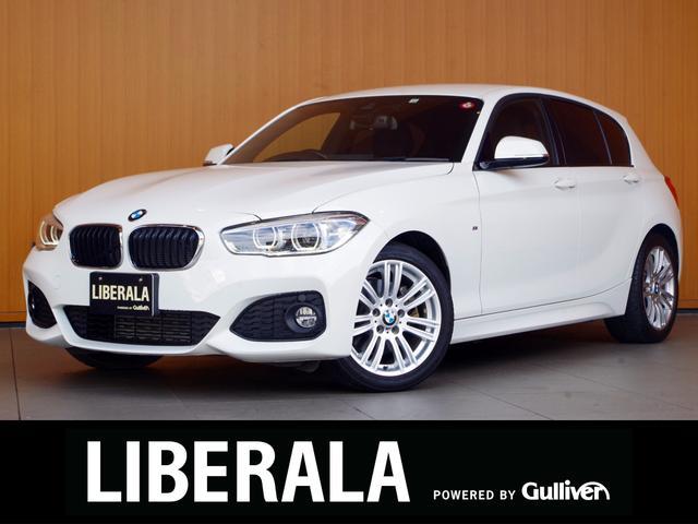 BMW 1シリーズ 118d Mスポーツ 衝突軽減B LDW 純正ナビ Bカメラ パークディスタンス クルーズコントロールコンフォートアクセス プッシュスタート アイドリングストップ ETC 純正17incAW キセノンライト