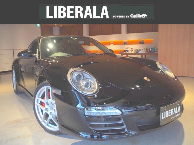 ポルシェ 911カレラ4S スポースクロノPKG黒レザー