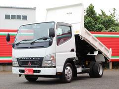 キャンター2t 全低床強化ダンプ 車両総重量:4815キロ