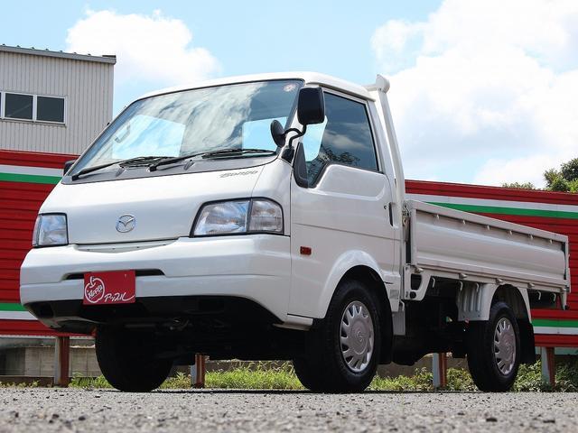 マツダ シングルワイドローDX 1150キロ積み 3方開 車検整備付き 4ナンバー 5MT 3ペダル キーレス